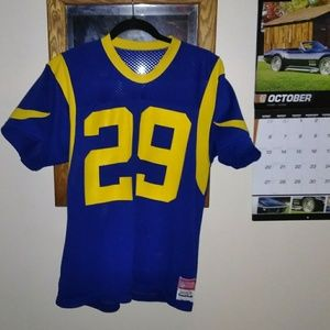 Eric Dickerson Sand Knit Medalist jersey L